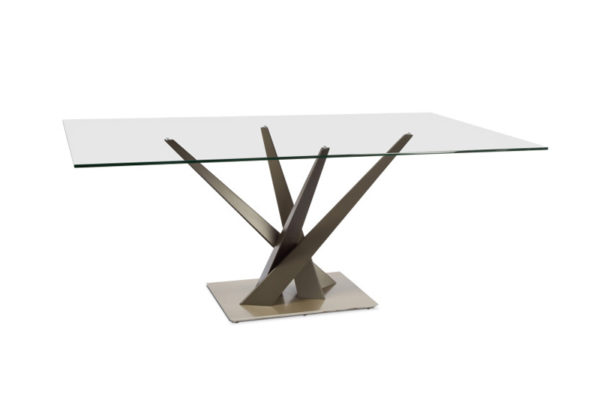 Elite Crystal Dining Table